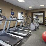 Start your day right, with a workout in our PreCor fitness center.